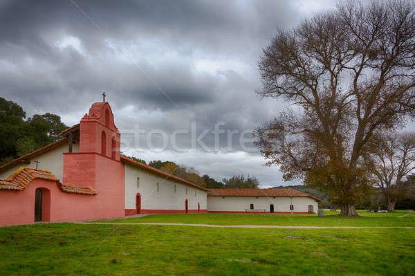 La Purisima Conception mission CA Stock photo © backyardproductions