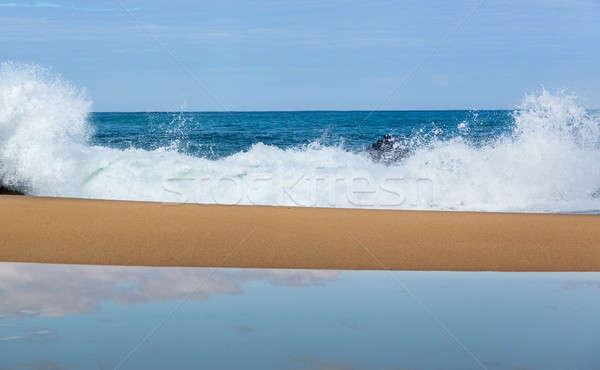 Lumahai beach in Kauai Stock photo © backyardproductions