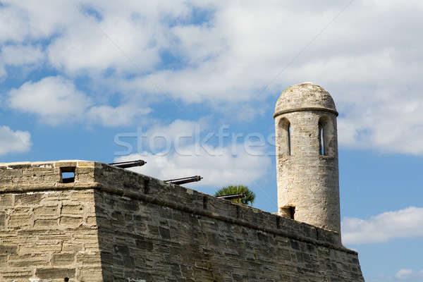 Castillo de San Marcos St Augustine FL Stock photo © backyardproductions