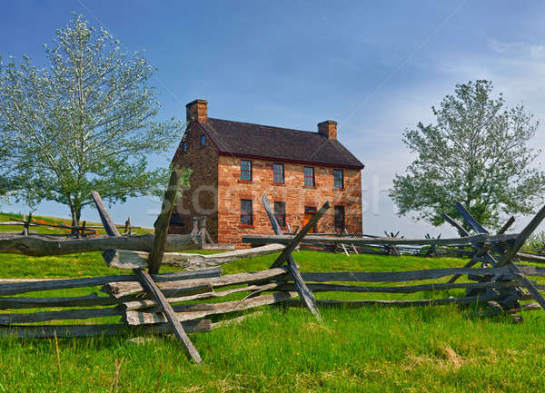 Old Stone House Manassas Battlefield Stock photo © backyardproductions