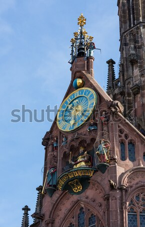 Church of our lady Nuremberg Stock photo © backyardproductions