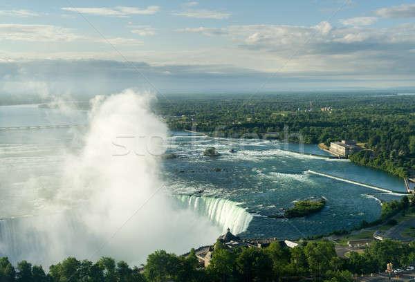 Canadian Horseshoe Falls at Niagara Stock photo © backyardproductions