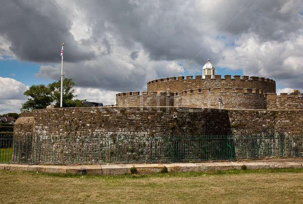 Walls of Deal Castle  Stock photo © backyardproductions