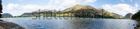 Riflessioni lake district montagna lago english Foto d'archivio © backyardproductions