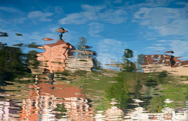 Abstract of Hirschhorn Hesse Germany Stock photo © backyardproductions