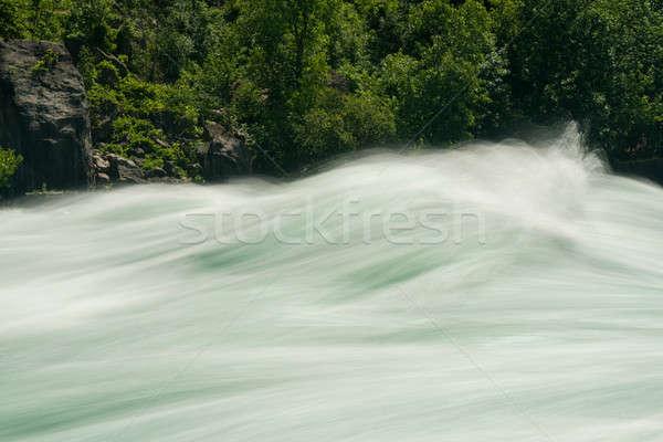 Rivier lopen Canada klasse Stockfoto © backyardproductions