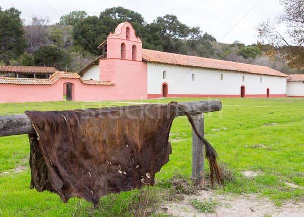 La mission Californie parc ciel nuages Photo stock © backyardproductions