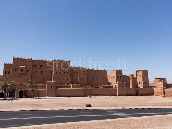 Quarzazate Kasbah Taourirt in Morocco Stock photo © backyardproductions
