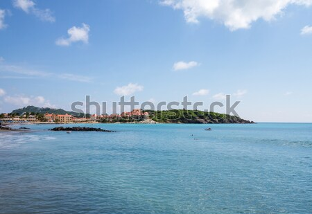 Timeshare apartment hotel in St Martin Stock photo © backyardproductions