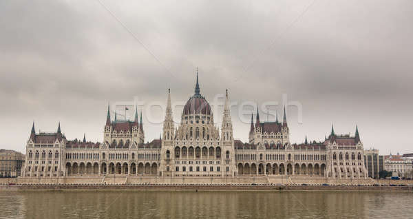 Hungarian Parliament Building in Budapest Stock photo © backyardproductions
