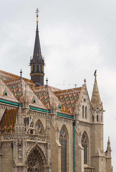 Stock photo: Mattias Church in Castle Hill Budapest
