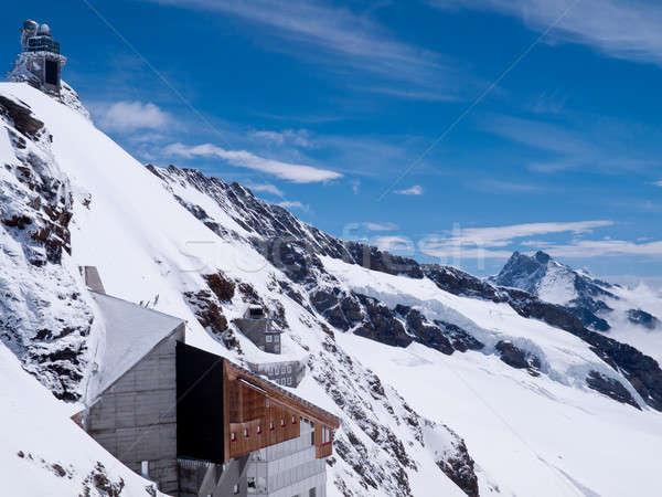 Viewpoint on Jungfraujoch Stock photo © backyardproductions