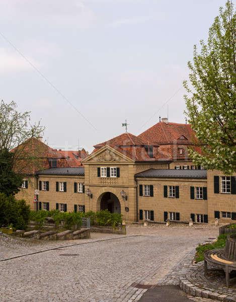 Bavarian village town of Castell in Bavaria Germany Stock photo © backyardproductions