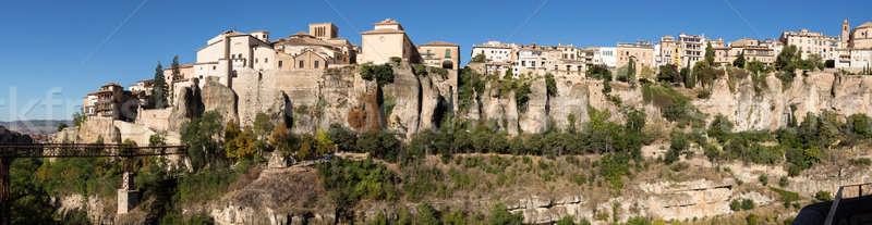 Panorama of Cuenca in Castilla-La Mancha, Spain Stock photo © backyardproductions