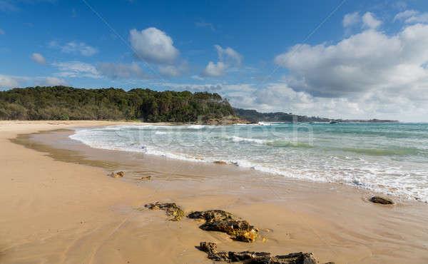 Beach just north of Coffs Harbour Australia Stock photo © backyardproductions