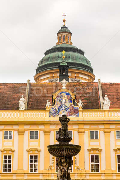 Exterior of Melk Abbey in Austria Stock photo © backyardproductions