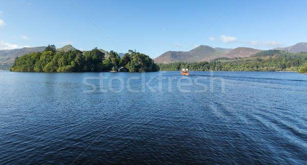 Barche acqua lake district bordo english Foto d'archivio © backyardproductions