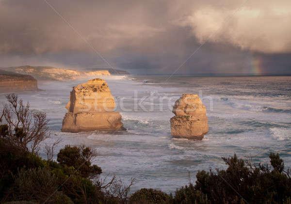 Twelve Apostles in Australia Stock photo © backyardproductions