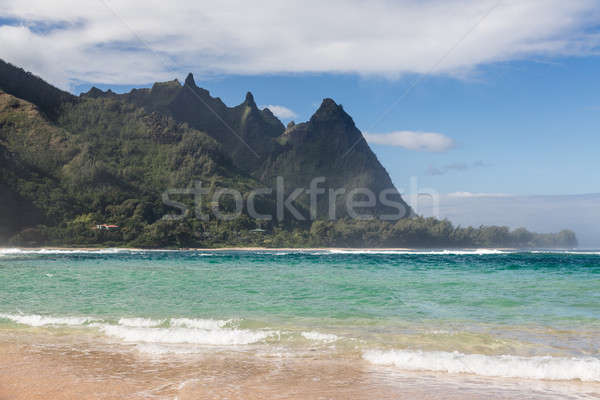 Tunnels beach north shore Kauai Stock photo © backyardproductions