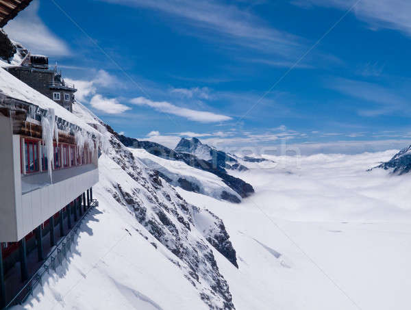 Viewpoint on Jungfraujoch Stock photo © backyardproductions