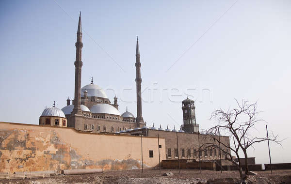 Old mosque in the Citadel in Cairo Stock photo © backyardproductions