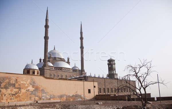 Edad mezquita ciudadela Cairo Egipto religiosas Foto stock © backyardproductions