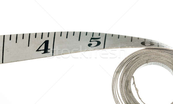 Cloth measuring tape for clothes making Stock photo © backyardproductions