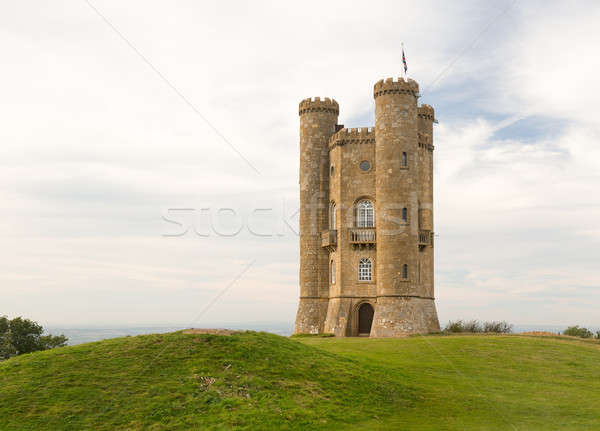 Broadway Tower in Cotswolds England Stock photo © backyardproductions