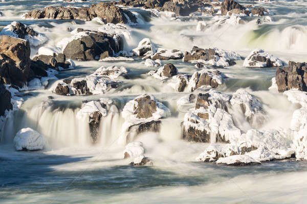 Great Falls on Potomac outside Washington DC Stock photo © backyardproductions