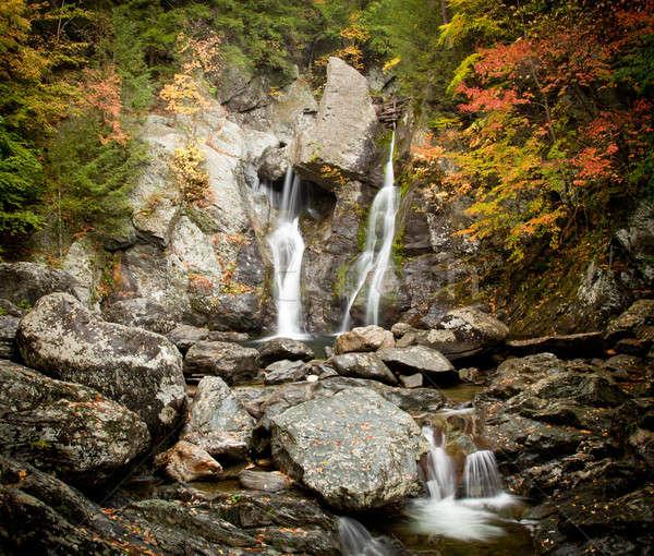 Bash Bish falls in Berkshires Stock photo © backyardproductions