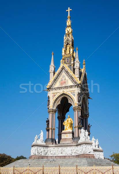 Albert Memorial in London Stock photo © backyardproductions
