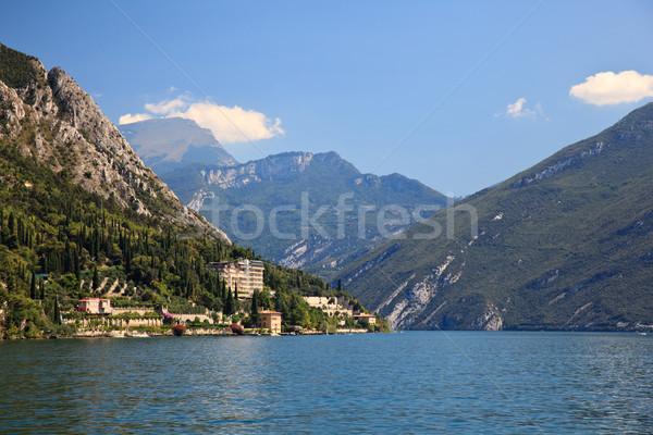 View up Lake Garda Stock photo © backyardproductions