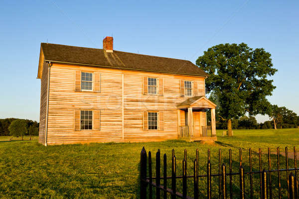 Henry House At Manassas Battlefield Stock photo © backyardproductions