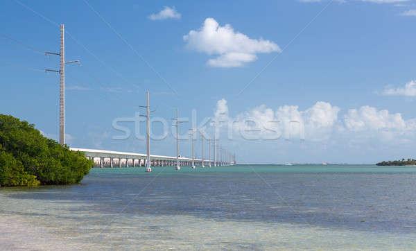 Florida tasti sette ponte patrimonio percorso Foto d'archivio © backyardproductions