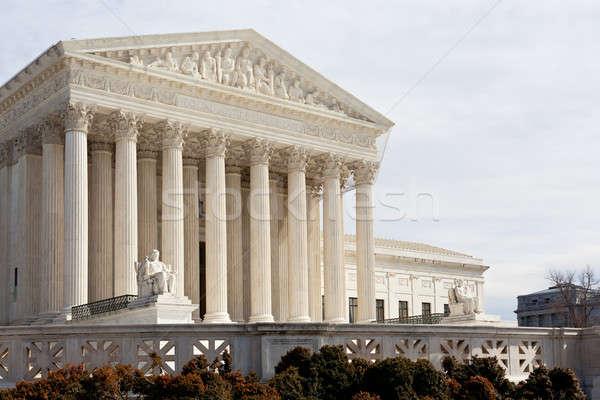 Foto stock: Tribunal · Washington · DC · EUA · fachada · edifício