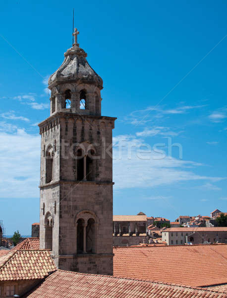 Dubrovnik roofs Stock photo © backyardproductions
