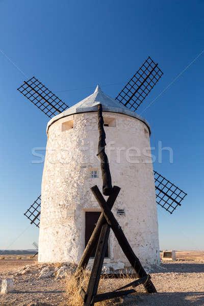 Windmill at Consuegra, La Mancha, Spain Stock photo © backyardproductions
