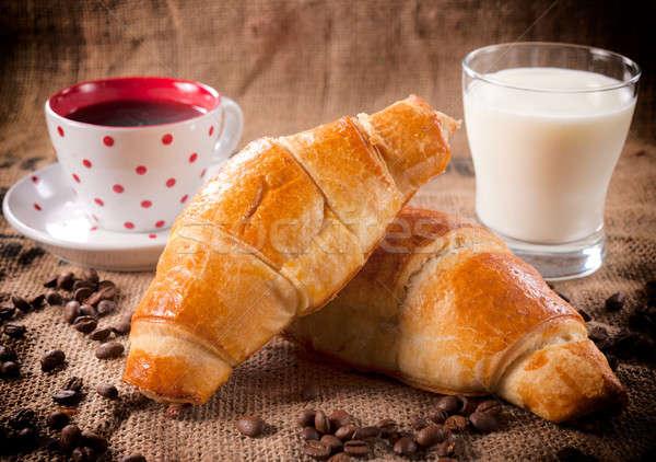 Croissant  Stock photo © badmanproduction