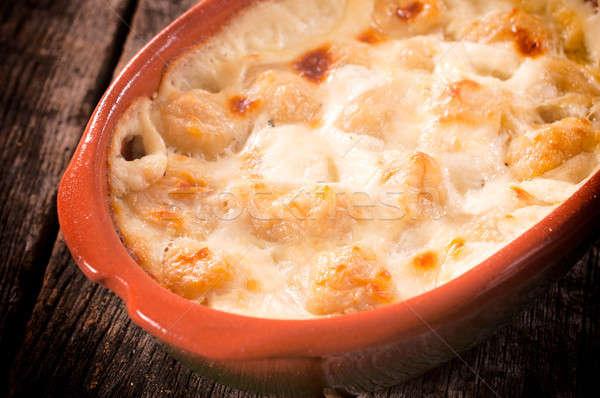 Traditional gnocchi Stock photo © badmanproduction