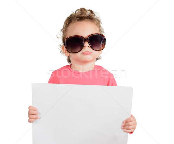 Funny child Stock photo © badmanproduction
