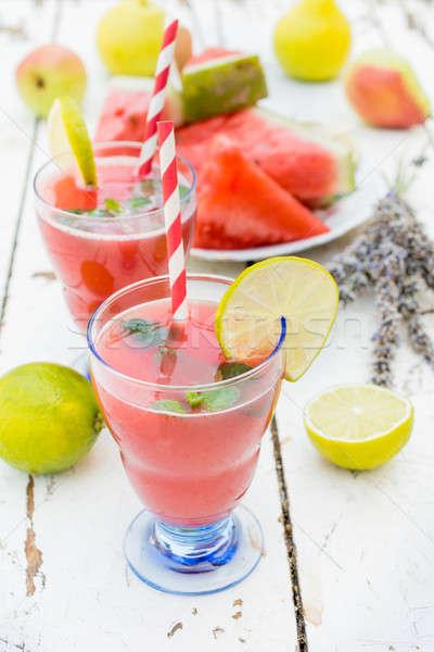 Squeezed juice Stock photo © badmanproduction