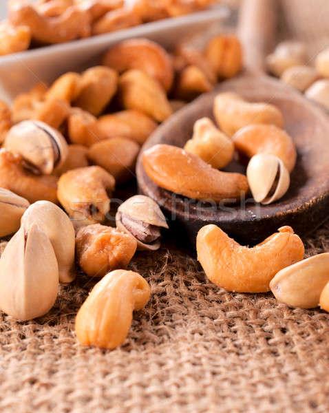 Photo stock: Casse-croûte · pistache · acajou · noix