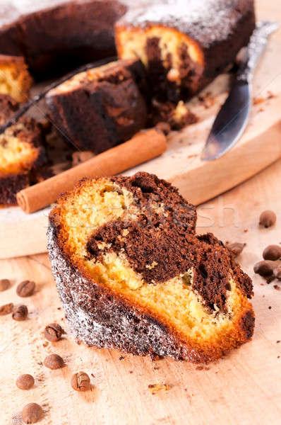 Cake slice Stock photo © badmanproduction