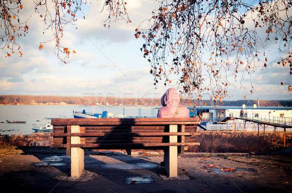 Lonely days  Stock photo © badmanproduction