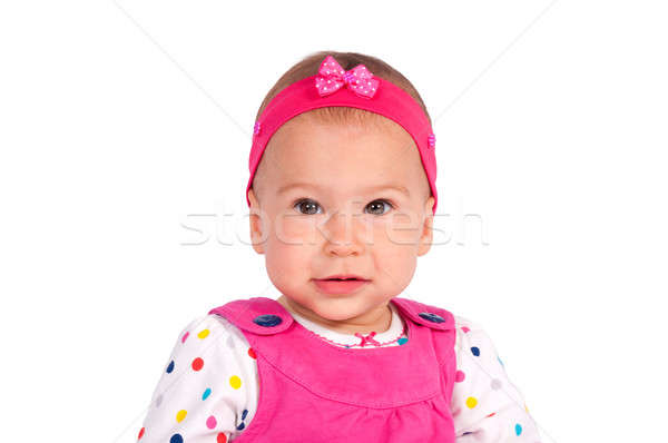 Little daughter Stock photo © badmanproduction