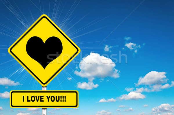 I love you Stock photo © badmanproduction