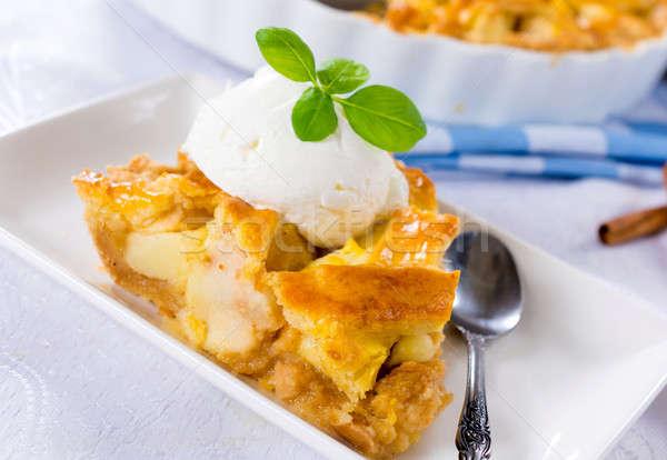 Apple pie Stock photo © badmanproduction