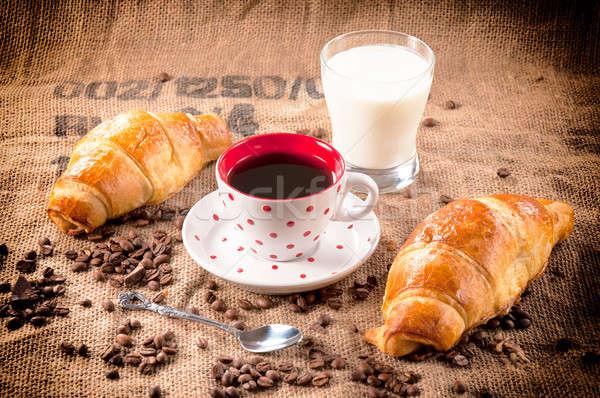 Instant coffee Stock photo © badmanproduction