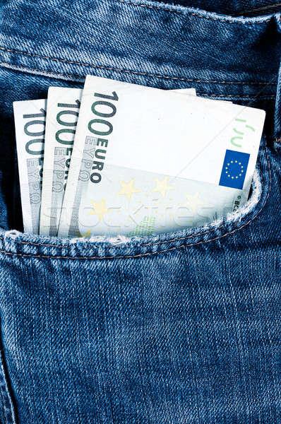 Money in pocket Stock photo © badmanproduction