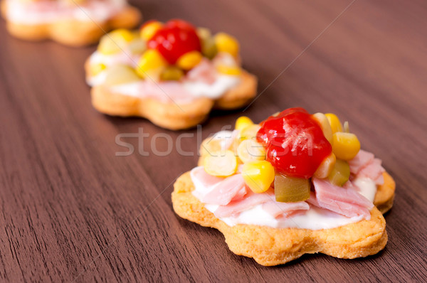 Tasty snacks Stock photo © badmanproduction